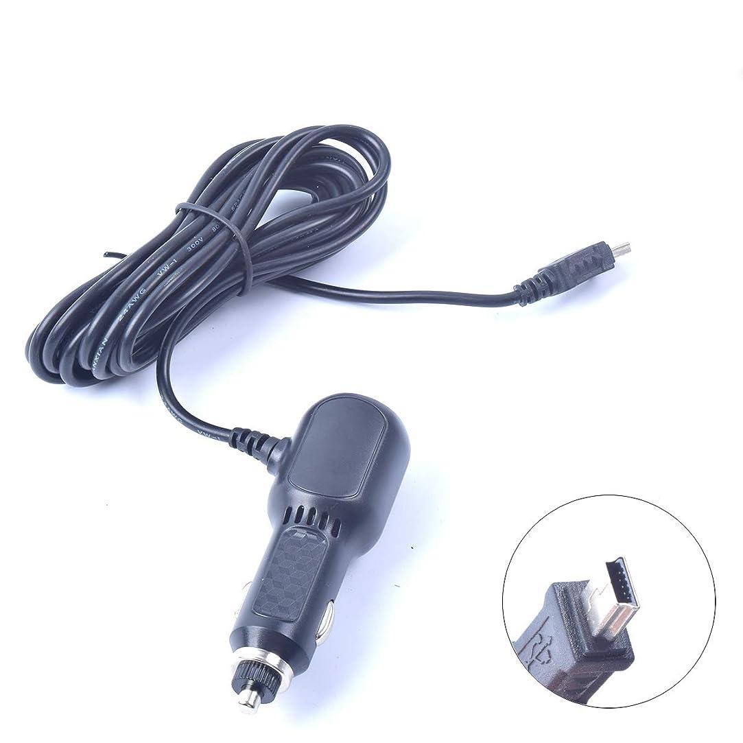 鰐姪温度車載アダプター DC 12V / 24V 対応 Mini USB 2ポート 3ウェイ シガーソケット充電器 車用 HTC/Samsung / DVR/GPS タブレット/ダッシュカム / Android対応 (ブラック)