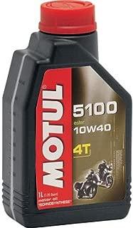 Motul 5100 4T Semi-Synthetic Motorcycle Oil 10W40 1 Quart