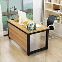LJBH Practice School Life And Strengthen Multifunctional Study Tables Computer desk, desk, durable and practical (Color : ...