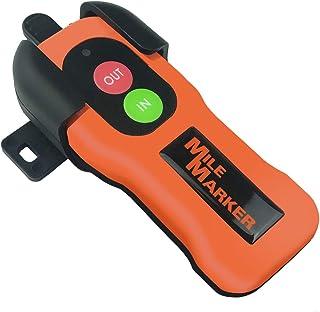 Mile Marker 7076 Wireless Remote Control Kit, Silver