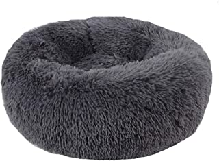 Beds Pet Plush Pet Round Dog House Soft Warm Kennel Comfortable Puppy Sofa Sleeping Bag with Anti-Slip Bottom Multiple Sizes Run-anmy