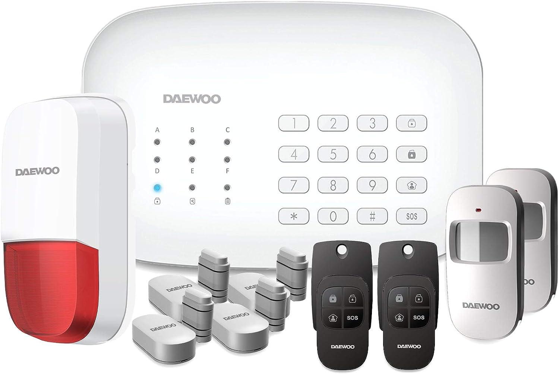 Photo de daewoo-systeme-dalarme-connecte-wifi-gsm-modele-home