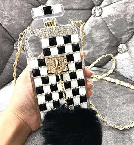 Losin Perfume Case Compatible with Apple iPhone 7 Plus iPhone 8 Plus 5 5 in Luxury Bling Diamond product image