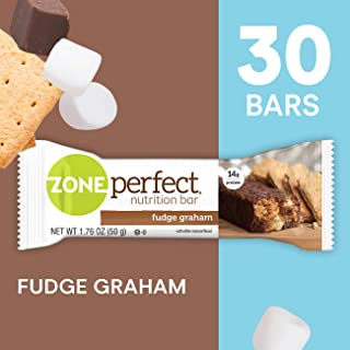 zone perfect chocolate chip cookie dough nutrition facts
