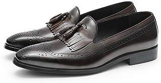 Rui Landed Zapatos Oxford Acento de Hombres Zapatos Formales Premium Cuero auténtico Top del Punto bajo Cuadrado de Punta ...