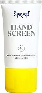 Supergoop! Handscreen SPF 40, 1 fl oz - Preventative, SPF Hand Cream For Dry Cracked Hands - Fast-Absorbing, Clean ingredi...