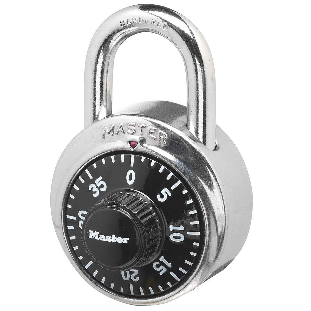 Master Lock 1500d Locker Lock Combination Padlock 1 Pack Black Combination Padlocks Amazon Com