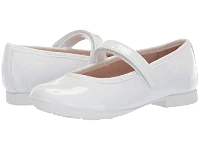Geox Kids Plie 58 (Toddler/Little Kid) (White) Girl