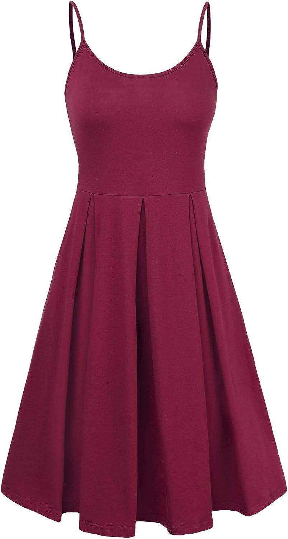 KASCLINO Formal Dress, Women's Swing Cocktail Vintage Summer Dress