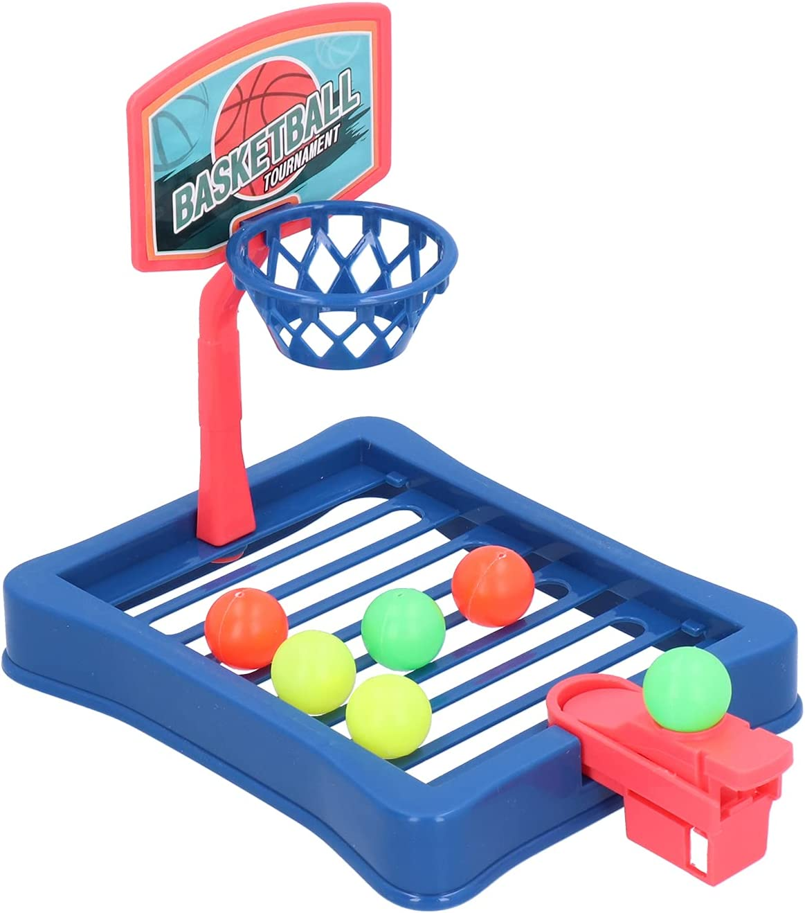 GLOGLOW Desktop Basketball Game, Basket Ball Shootout Table Top