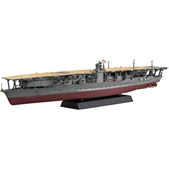 フジミ模型 1/700 艦NEXTシリーズ No.4 日本海軍航空母艦 赤城 色分け済み プラモデル 艦NX4