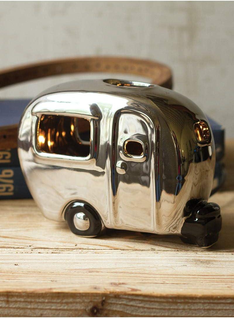 Be super welcome KALALOU CDV1846K Silver Ceramic 2 latest Camper MIN LAMP