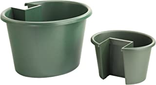 My Garden Post MGPCLSG Green for use on Deck, Patio, Balcony, Fence, Sign and Mailbox Posts