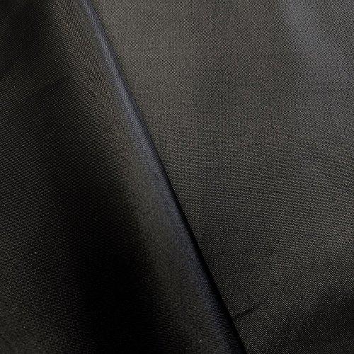 "Polyester China Silk Lining Fabric 60"" Wide Habutai by The Yard (White, 1 Yard)"