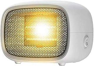 CSDY-Calefactor Eléctrico, Mini Calefactor Ventilador, Cerámico Caliente Ventilador, Calefactor De Aire Caliente, Calentador De Portátil para Cuarto Oficina, Protección contra Sobrecalentamiento