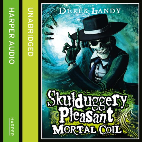 Mortal Coil: Skulduggery Pleasant, Book 5 audiobook cover art