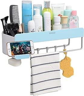 Adhesive Bathroom Shelf Storage Organizer Wall Mount No Drilling Shower Shelf Kitchen Storage Basket Rack Shelves Shower Caddy