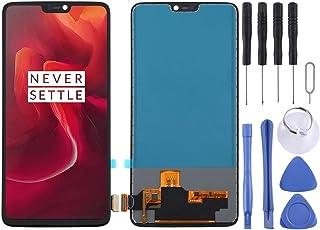 جراب بطارية Jrc TFT من مادة شاشة LCD ومحول رقمي مجموعة كاملة لهاتف OnePlus 6 A6000 (أسود) إكسسوارات الهاتف المحمول (اللون:...