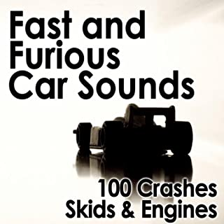 Fast and Furious Car Sounds - 100 Crashes, Skids & Engines