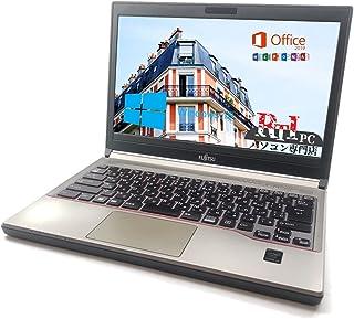 【Microsoft Office 2019搭載】【Win 10搭載】中古ノートパソコン【LifeBook E734/K】 Core i5 -4310M 2.70 GHz【第4世代】8 GB, 320 GB, 13.3 型, DVD-RW, W...