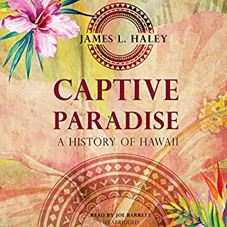 Captive Paradise audiobook cover art