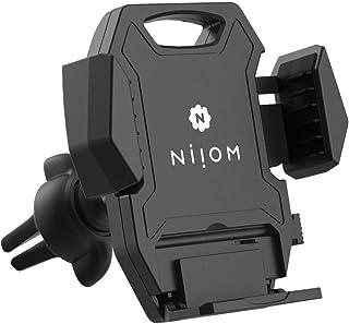 NIIOM Handyhalterung Auto Lüftung & KFZ Halterung mit Kugelgelenk – Universal Handy Halterung für Lüftungsschlitz & Belüftung – Smartphone Halter passend für z.B. iPhone, Samsung Galaxy & Huawei