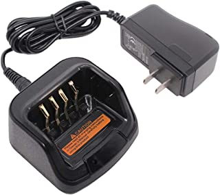 CH10A07 Charger Compatible for Hytera PD782 PD502 PD505 PD562 PD565 PD580 PD602 PD605 PD662 PD665 PD685 PD702 PD705 PD785 PD755 PT580H BL2503 BL2502 BL2006 BL2008
