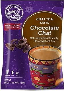 Big Train Chai Tea Latte, Chocolate, 56 Ounce, Powdered Instant Chai Tea Latte Mix, Spiced Black Tea with Milk, For Home, Café, Coffee Shop, Restaurant Use