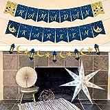 Ramadan Kareem Banner Happy Ramadan Party Decorations Eid Festival Supplies Moon Star Lantern Garland Ramadan Decor