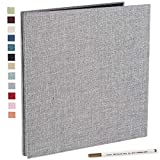Photo Album Self Adhesive 4x6 5x7 3x5 8.5x11 Scrapbook Magnetic Album DIY Scrap Book Length 13 x Width 12.8...