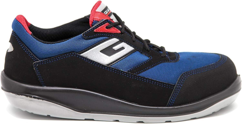 Giasco ER154NC -36 Fitness S1P Safety skor - - - svart  blå  röd, Storlek 36  80% rabatt