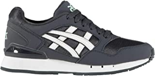 Official Brand Asics Gel Atlanis Trainers Juniors Boys India Ink/White Shoes Sneakers Footwear