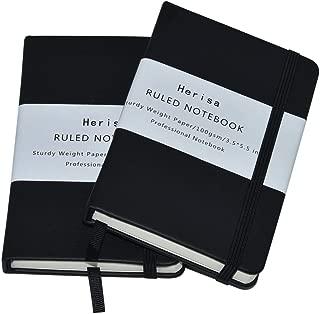 2Pack Pocket Notebook Pocket Size 3.5