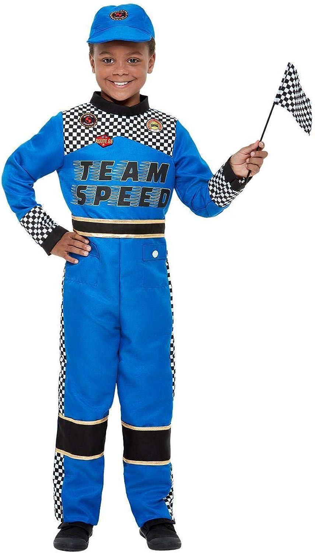 Rennfahrer Kinderkostüm Karneval Motorsport Racing Car Driver Costume