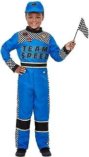 Smiffys 47717L - Disfraz de piloto de carreras para niños