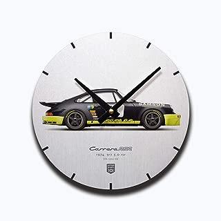 GarageProject101 1974 911 Carrera 3.0 RSR (Spa 1000 km) Illustration Wall Clock