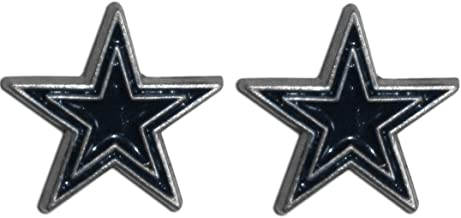 Siskiyou Sports NFL Stud Earrings