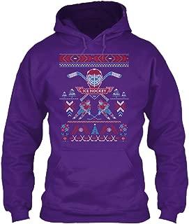 teespring Men's Ice Hockey - Sweatshirt - Gildan 8Oz Heavy Blend Hoodie
