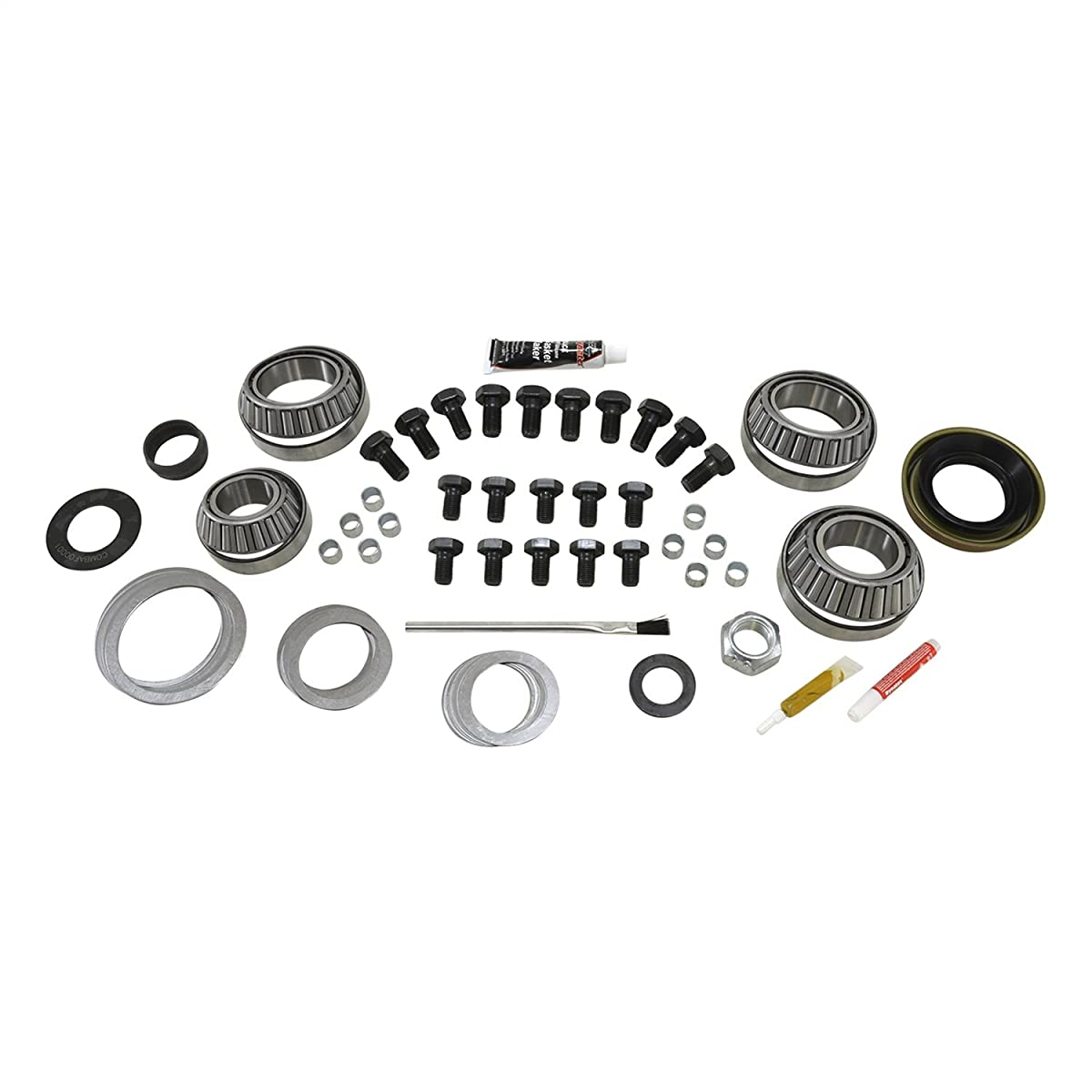 Yukon Gear & Axle (YK D44-JK-RUB) Master Overhaul Kit for Jeep JK Rubicon Dana 44 Rear Differential