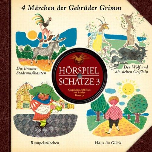 Hörspiel Schätze. Originale von 1950-1970. Teil 3 Titelbild
