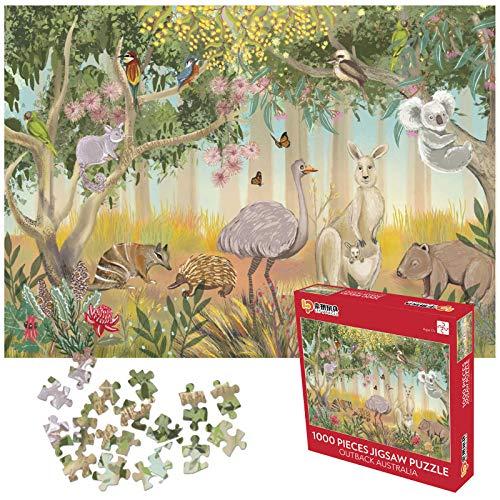 Puzzle 1000 pezzi,Puzzle impossibili,Puzzle animali selvaggi Adulti Puzzle Bambini 1000 Piece Jigsaw Puzzles Puzzles Classici,Alta qualità senza coriandoli, spessore 2 mm, peso 810 g, 70 * 50 cm