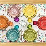 Zoom IMG-1 servizio piatti felicity multicolore 12