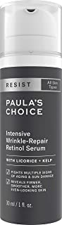 Paula's Choice Resist Intensive Wrinkle Repair Retinol Serum W/Vitamin C, 1 oz Bottle For Facial Wrinkles And Uneven Skin Tone