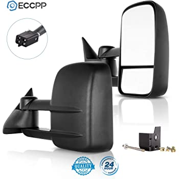 ECCPP ECCPP050338-2 for Chevy Towing Mirror, 2 Pack
