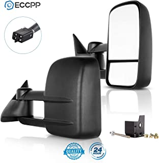 ECCPP Towing Mirrors for 1988-1998 for Chevy GMC C/K 1500 2500 3500 Power Pair Side