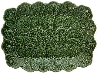Relief Platter 39 - Green