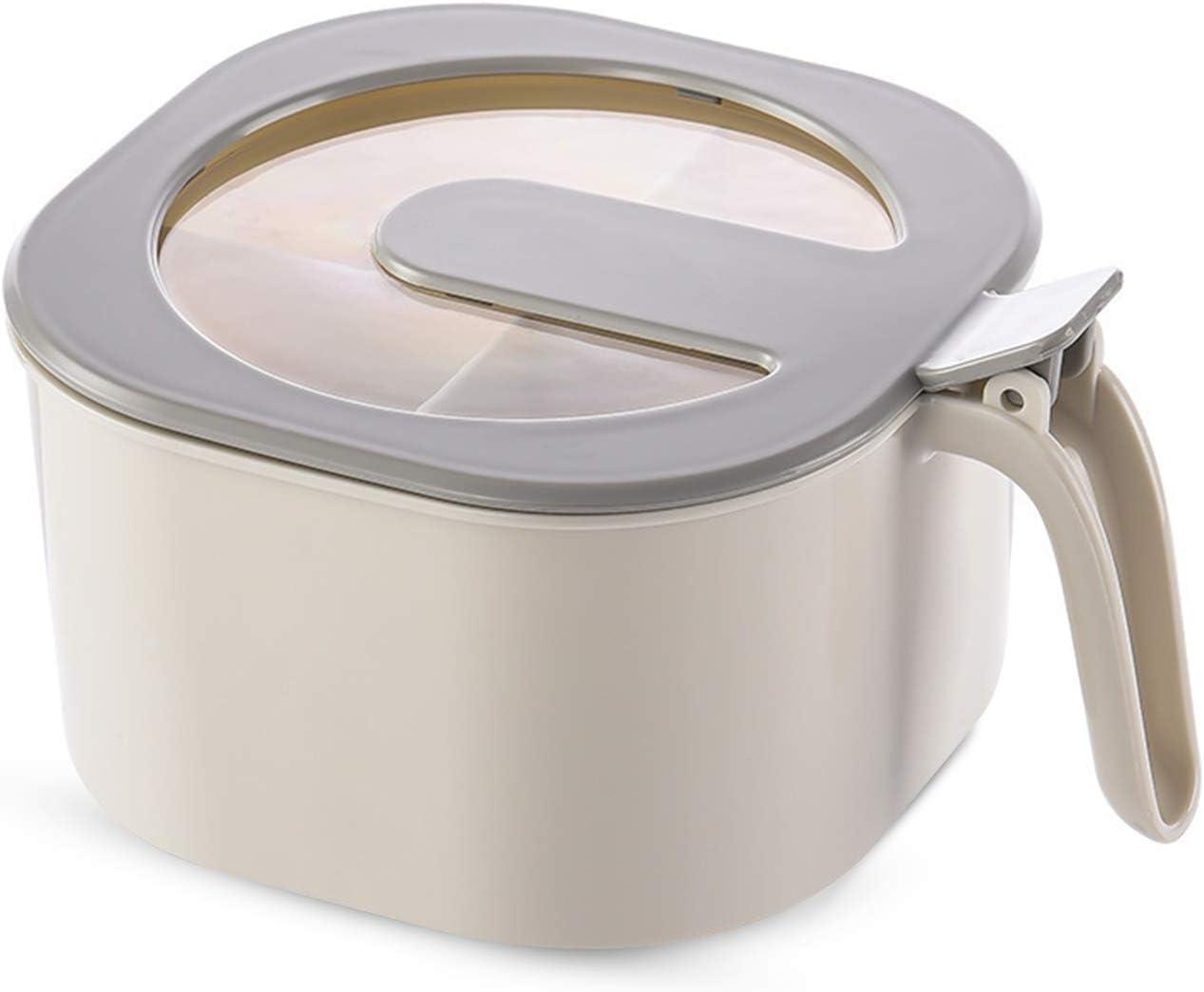 Hwtcjx salero cocina con tapa, saleros de cocina, 1 pieza azucarero original, Caja de Condimentos, salero y azucarero, Hecho de PS + PP, seguro y no tóxico, para sal, azúcar, pimienta, especias (gris)