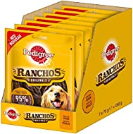 Pedigree Dog Treats Dog Treats Ranchos Original, 7Packs (7x 70g