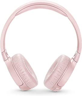 JBL T600BTNC Noise Cancelling, On-Ear, Wireless Bluetooth Headphone, Pink