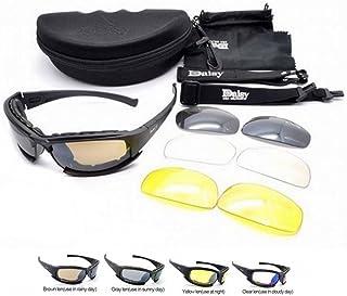 c14e33684b Polarizado Daisy X7 Ejército táctico militar ejército gafas al aire libre  gafas 4 lentas gafas de